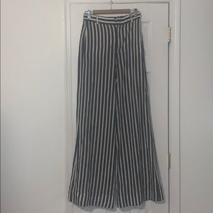 Zara flare pants.